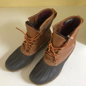 "Women's L.L. Bean Boots 8"" Gore-Tex/thinsulate"